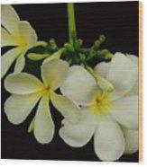 Thai Flowers Wood Print