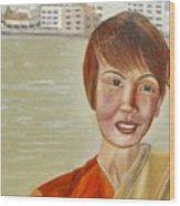 Thai Hostess Wood Print
