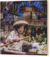 Thai Lifestyle1 Wood Print