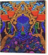 Thailand  Wood Print