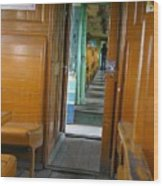Thailand Train Wood Print