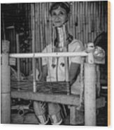 Thailands Long Neck Women Wood Print