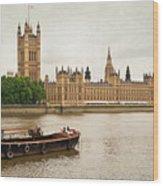 Thames Wood Print