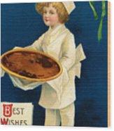Thanksgiving Card Wood Print