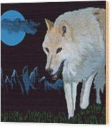That Wolf Wood Print