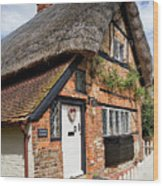 Thatched Cottages In Chawton 4 Wood Print