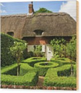 Thatched Cottages In Chawton 7 Wood Print