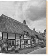 Thatched Cottages Of Hampshire 15 Wood Print
