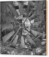 That's One Dadgum Big Pinwheel Wood Print