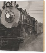 The 1702 At Dillsboro Wood Print