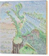 The 18th Hole Wood Print