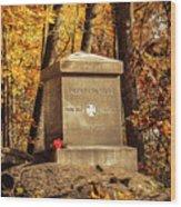 The 20th Maine Wood Print