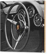 The 356 Roadster Wood Print