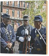 The 54th Regiment Bos2015_185 Wood Print