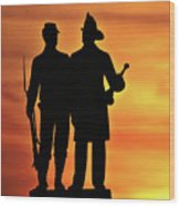 The 73rd New York Wood Print