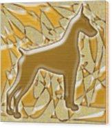 Dobermans, Magnificent Wood Print
