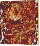 The Accidental Shaman Wood Print
