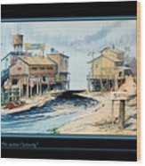 The Acme Cannery Wood Print