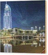 The Address Dubai Wood Print