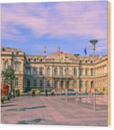 The Administrative Palace Wood Print