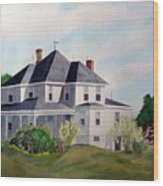 The Adrian Shuford House - Spring 2000 Wood Print