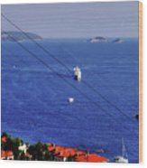 The Adriatic Sea Wood Print