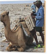 The Afar People  Wood Print