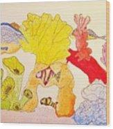 The Age Of Aquarium Wood Print