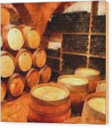The Aging Room Wood Print