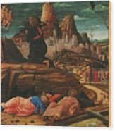 The Agony In The Garden 1455 Wood Print