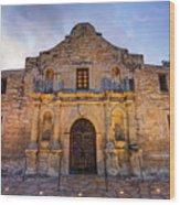 The Alamo - San Antonio Texas Wood Print