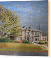 The Aldredge House  Wood Print