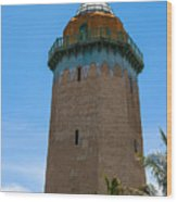 The Alhambra Water Tower Wood Print