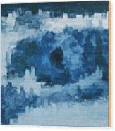 The All Seeing Blue Eye Wood Print