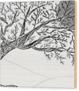 The All Seeing Eye  Wood Print