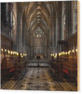 The Altar Wood Print by Adrian Evans