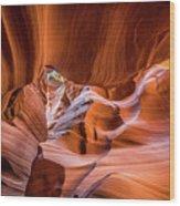 The Amazing Antelope Slot Canyons In Arizona, Usa Wood Print