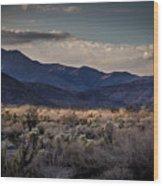 The American West Wood Print