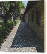 The Ancient Cloister 2  Wood Print