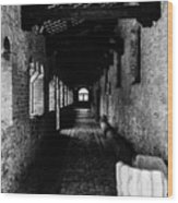 The Ancient Cloister 3 Wood Print