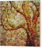 The Ancient Tree Of Wisdom Wood Print