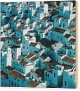 The Ancient Village Of Cacares Wood Print