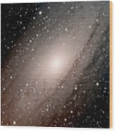 The Andromeda Galaxy Close  Up Wood Print