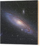 The Andromeda Galaxy Wood Print
