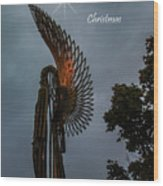 The Angel At Christmas Wood Print