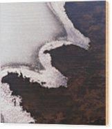 The Angel Wood Print