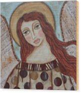 The Angel Of Hope Wood Print