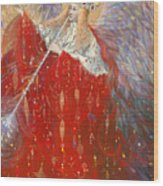 The Angel Of Life Wood Print