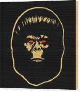 The Ape Wood Print
