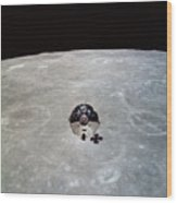 The Apollo 10 Command And Service Wood Print
